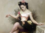 "Лев Чистовский (Lev Tchistovsky) ""Четырнадцатилетняя балерина | Fourteen-year-old ballerina"""