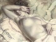 "Лев Чистовский (Lev Tchistovsky) ""В будуаре | In the boudoir"""