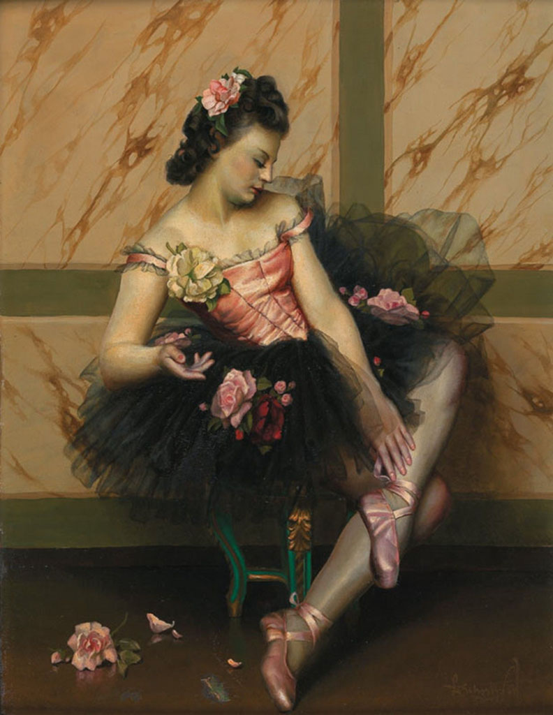 "Лев Чистовский (Lev Tchistovsky) ""Балерина | Ballerina"""