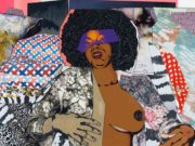 "Микалейн Томас (Mickalene Thomas) ""Portrait of Maya #8"""