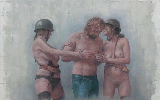 "Эрик Тиеролф (Erik Tierolf) ""Untitled - 75"""