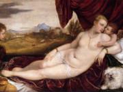 Тициан Вечеллио (Tiziano Vecellio), Венера с органистом