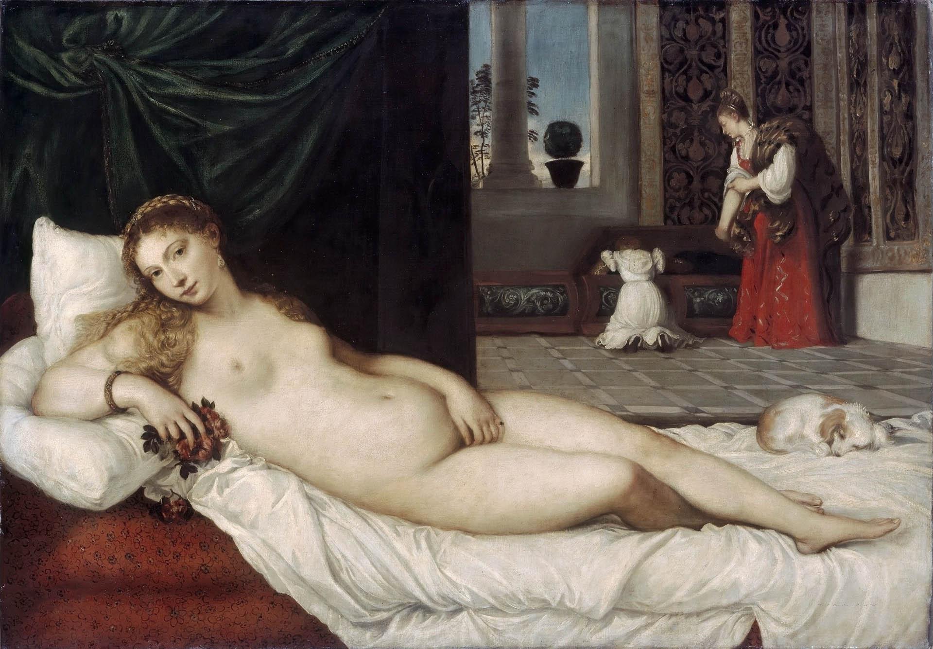 Тициан Вечеллио (Tiziano Vecellio), Венера Урбинская