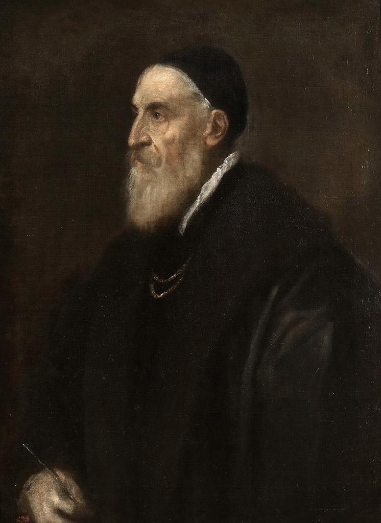 Тициан Вечеллио (Tiziano Vecellio). Автопортрет