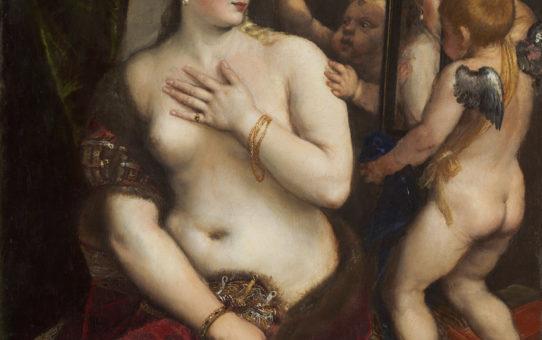 Тициан Вечеллио (Tiziano Vecellio), Венера с зеркалом