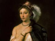 Тициан Вечеллио (Tiziano Vecellio), Портрет молодой женщины