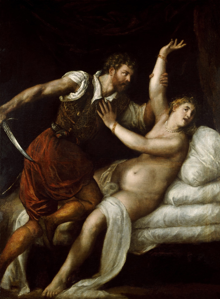 Тициан Вечеллио (Tiziano Vecellio), Тарквиний и Лукреция