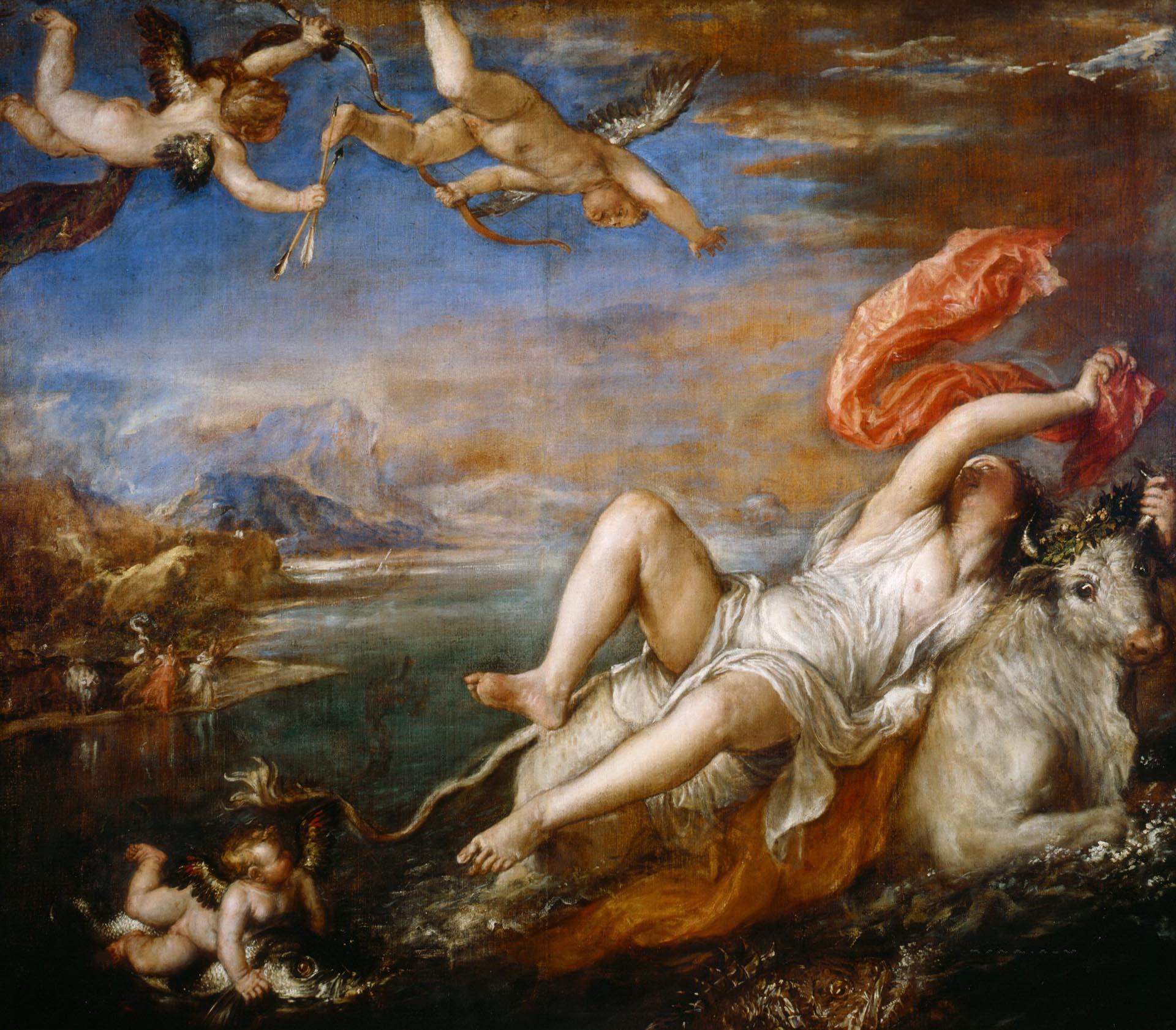 Тициан Вечеллио (Tiziano Vecellio), Похищение Европы