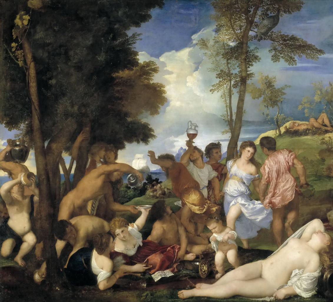 Тициан Вечеллио (Tiziano Vecellio), Вакханалия