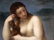 Тициан Вечеллио (Tiziano Vecellio), Рождение Венеры (Афродита Анадиомена)
