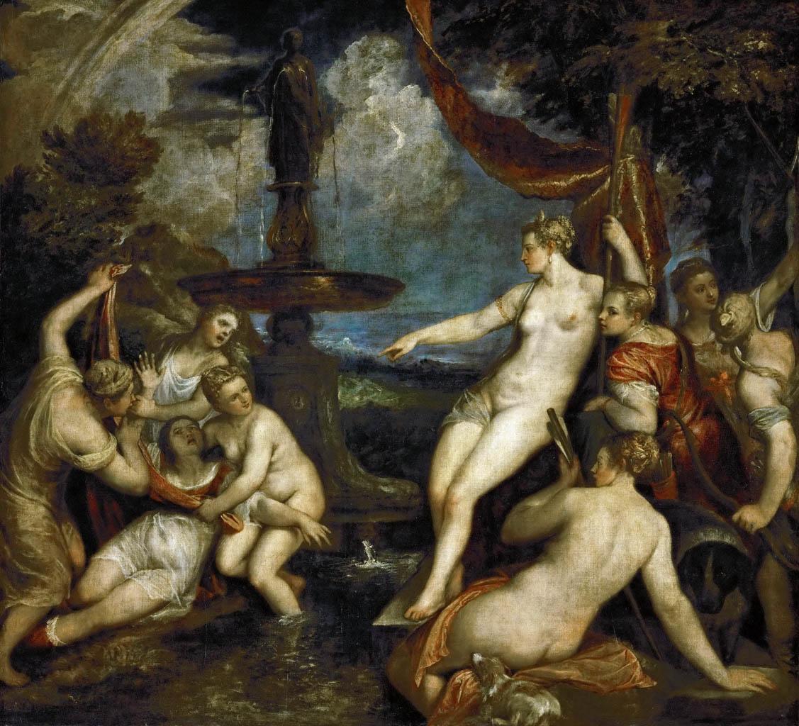 Тициан Вечеллио (Tiziano Vecellio), Диана и Каллисто