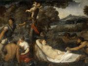 Тициан Вечеллио (Tiziano Vecellio), Юпитер и Антиопа