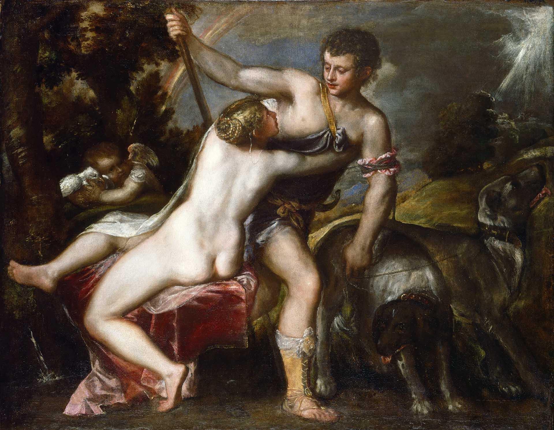 Тициан Вечеллио (Tiziano Vecellio), Венера и Адонис