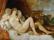 Тициан Вечеллио (Tiziano Vecellio), Даная – 1