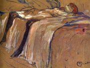 "Анри де Тулуз-Лотрек (Henri de Toulouse-Lautrec), ""Alone Seule"""