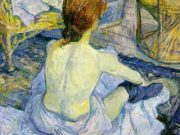 "Анри де Тулуз-Лотрек (Henri de Toulouse-Lautrec), ""The Toilette"""