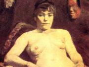 """Анри де Тулуз-Лотрек (Henri de Toulouse-Lautrec), """"Толстая Мари"""""""
