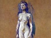 "Анри де Тулуз-Лотрек (Henri de Toulouse-Lautrec), ""Без названия - 23"""