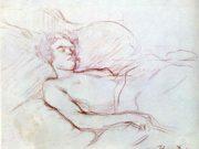 "Анри де Тулуз-Лотрек (Henri de Toulouse-Lautrec), ""Без названия - 25"""