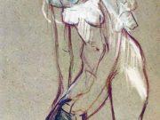 "Анри де Тулуз-Лотрек (Henri de Toulouse-Lautrec), ""Без названия - 26"""