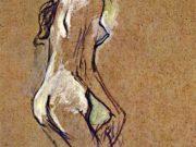 "Анри де Тулуз-Лотрек (Henri de Toulouse-Lautrec), ""Без названия - 27"""