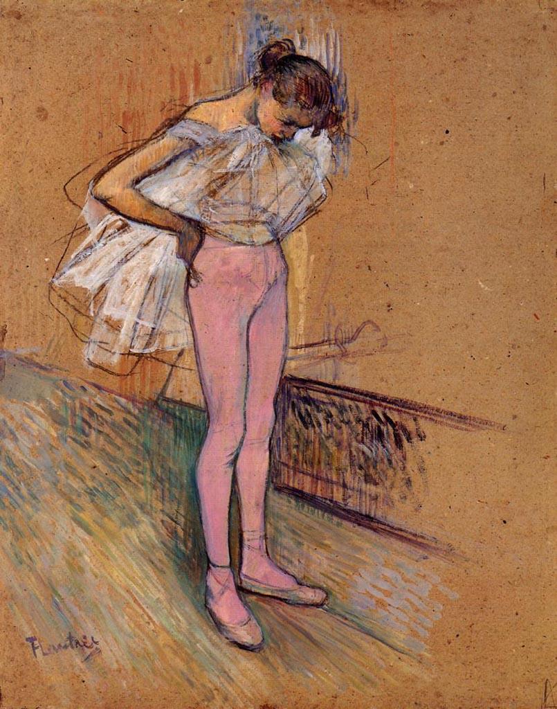 "Анри де Тулуз-Лотрек (Henri de Toulouse-Lautrec), ""Без названия - 28"""