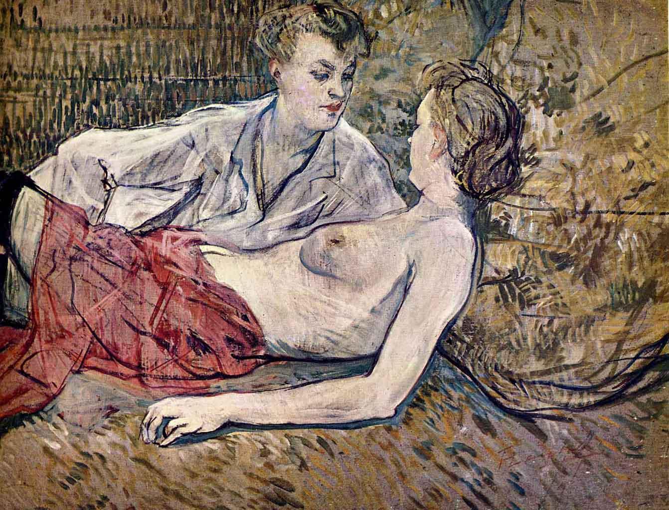 "Анри де Тулуз-Лотрек (Henri de Toulouse-Lautrec), ""Без названия - 31"""