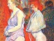 "Анри де Тулуз-Лотрек (Henri de Toulouse-Lautrec), ""The Medical Inspection"""