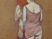 "Анри де Тулуз-Лотрек (Henri de Toulouse-Lautrec), ""Two Half-Naked Women Seen from behind in th..."""