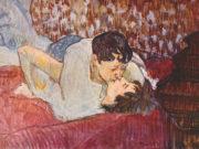 """Анри де Тулуз-Лотрек (Henri de Toulouse-Lautrec), """"The Kiss"""""""