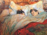 "Анри де Тулуз-Лотрек (Henri de Toulouse-Lautrec), ""In Bed"""