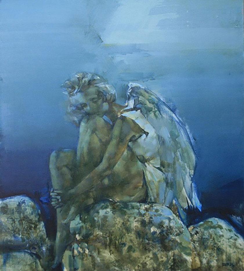 "Инна Цукахина (Inna Tsukakhina) ""Ангел у моря | Angel"""