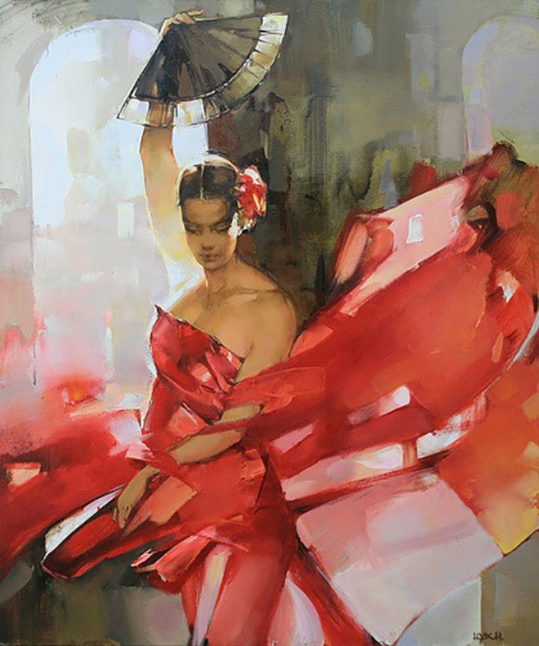 "Инна Цукахина (Inna Tsukakhina) ""Танец испанки | Spanish dancer"""