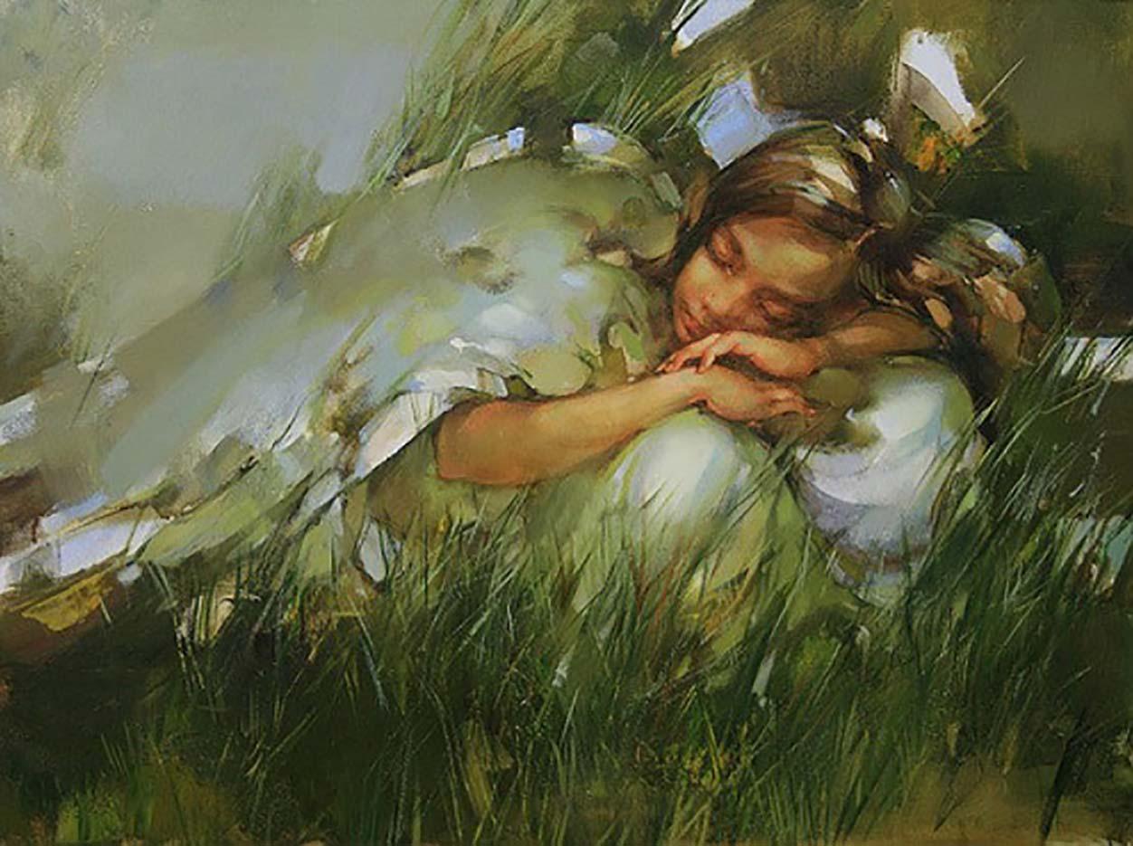 "Инна Цукахина (Inna Tsukakhina) ""Спящий ангел | Sleeping angel"""