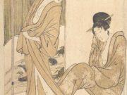 """Китагава Утамаро (Kitagawa Utamaro) """"Гравюра без названия - 19"""""""