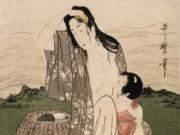 "Китагава Утамаро (Kitagawa Utamaro) ""Pearl Divers"""