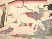 "Китагава Утамаро (Kitagawa Utamaro) ""Colour-Shunga (10) """