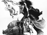 "Борис Вальехо (Boris Vallejo) ""Sorceress' Apprentice"" (Drawing)"