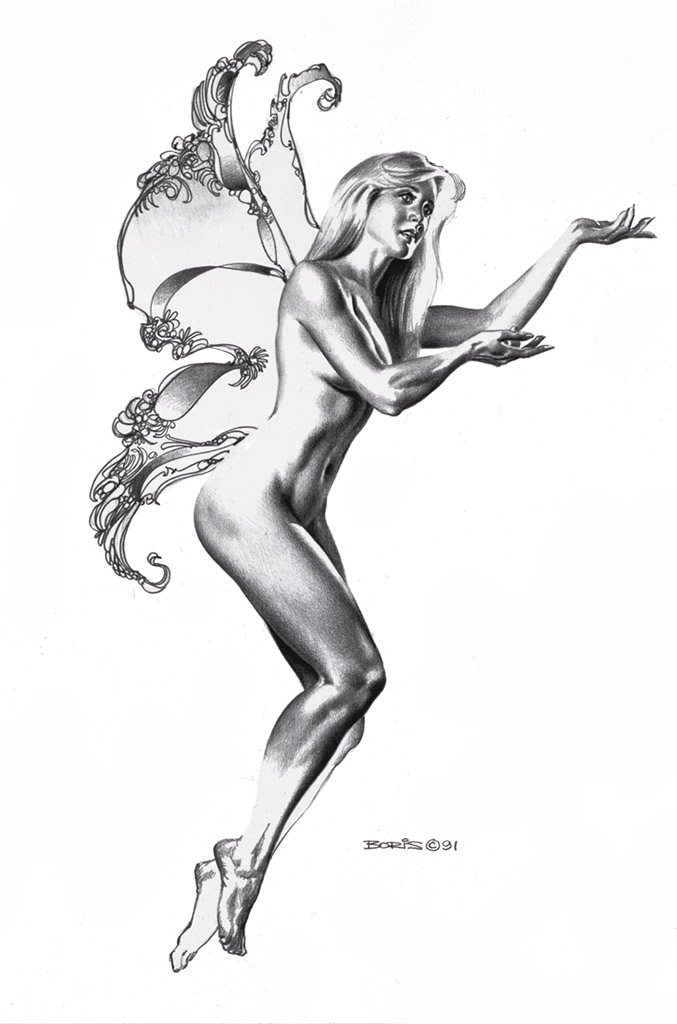 "Борис Вальехо (Boris Vallejo) ""Pandora's Hope"" (Drawing)"