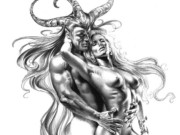 "Борис Вальехо (Boris Vallejo) ""Couple"" (Drawing)"