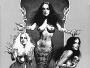"Борис Вальехо (Boris Vallejo) ""Snake Sisters"" (Drawing)"