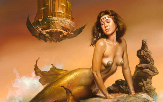 "Борис Вальехо (Boris Vallejo), ""Mermaid"""