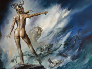 "Борис Вальехо (Boris Vallejo), ""Sea Creatures"""