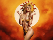 "Борис Вальехо (Boris Vallejo), ""Sun Goddess"""
