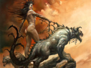 "Борис Вальехо (Boris Vallejo), ""Tales Of Fausseah"""