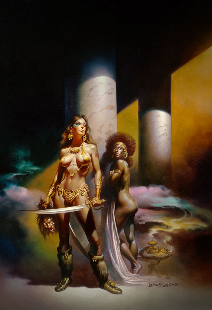 "Борис Вальехо (Boris Vallejo), ""The Executioner"""