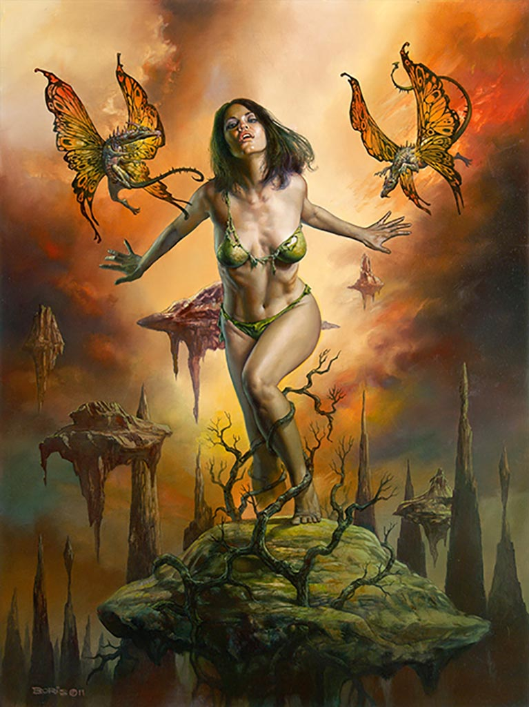 "Борис Вальехо (Boris Vallejo), ""The Teasers"""