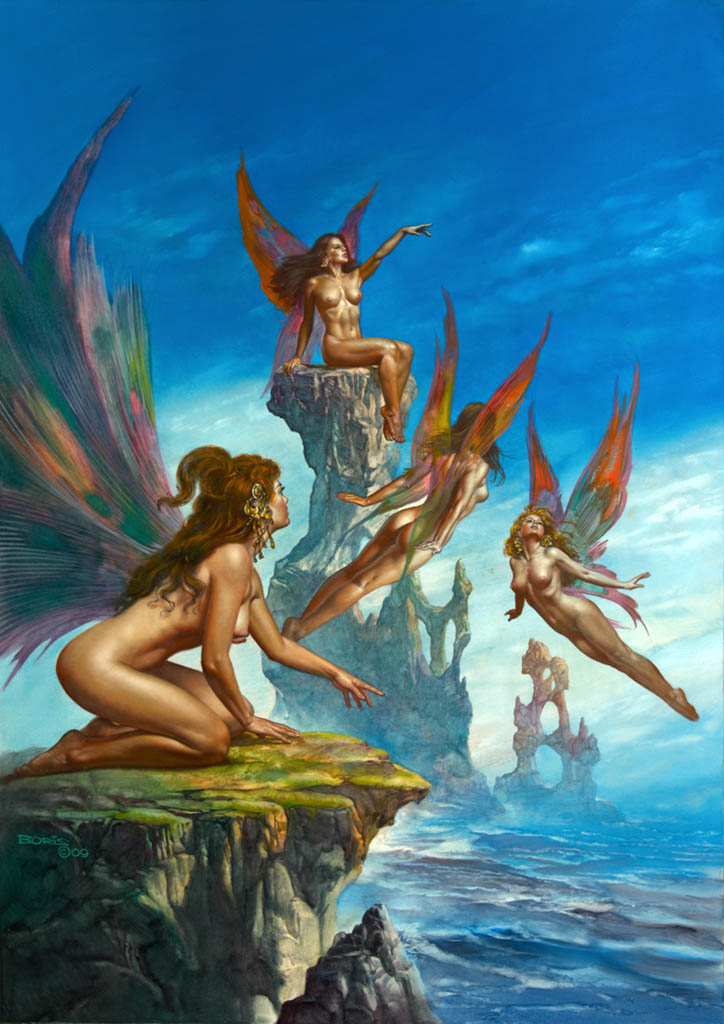 "Борис Вальехо (Boris Vallejo), ""To Wonder If"""
