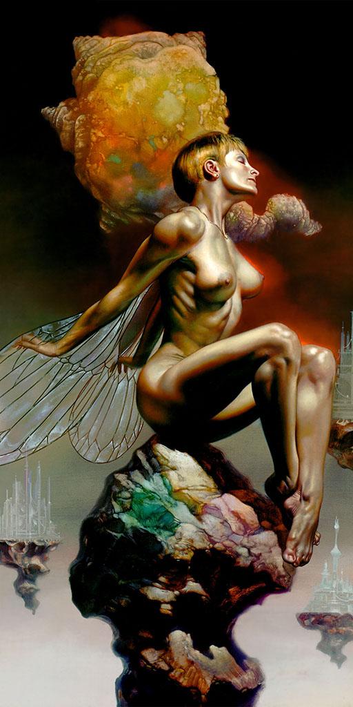 "Борис Вальехо (Boris Vallejo), ""Untitled - 121"""