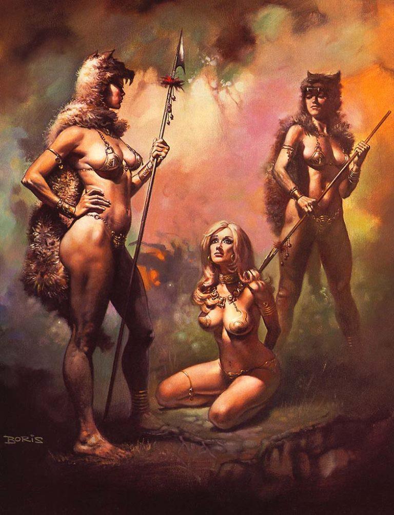 naked-barbarian-women-drawings